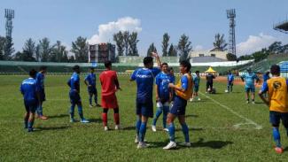 Latihan Persib Bandung.