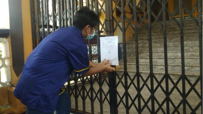 Istana Maimun ditutup untuk umum karena crona.