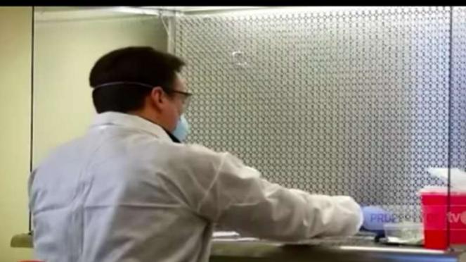 Para peneliti di Amerika Serikat untuk kali pertama menguji coba kandidat vaksin virus corona Covid-19 terhadap manusia.