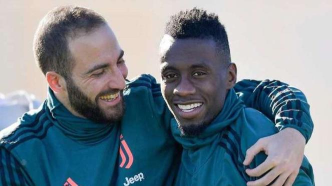 Gonzalo Higuain dan Blaise Matuidi