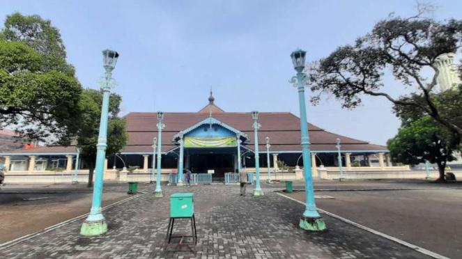 Masjid Agung Solo, Jawa Tengah.