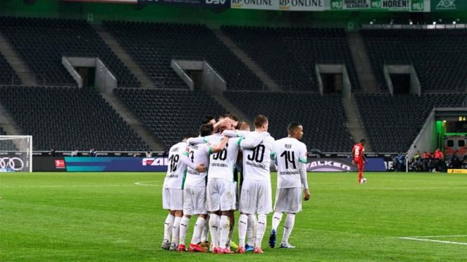 Para pemain Borussia Monchengladbach.