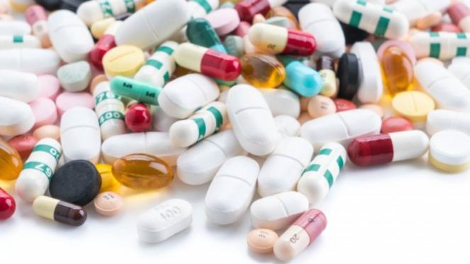 Ilustrasi vitamin/obat.