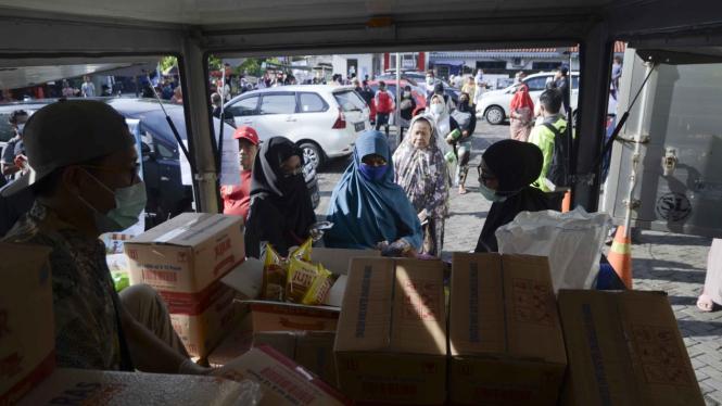 Operasi Pasar Jaga Stabilitas Pangan Ditengah Covid-19