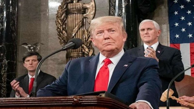 Presiden Amerika Serikat, Donald Trump.