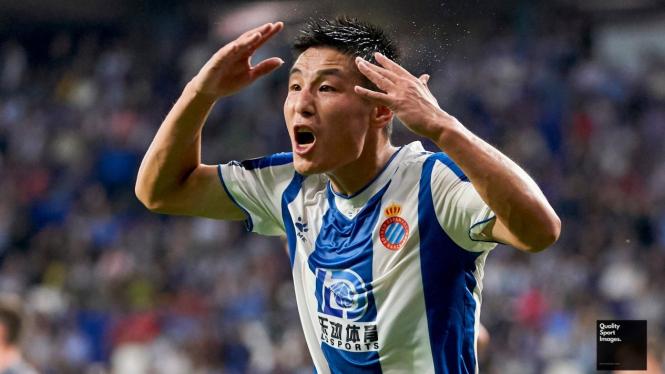 Pemain Espanyol asal China, Wu Lei