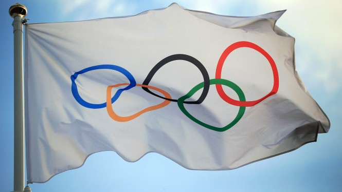 Bendera logo Olimpiade