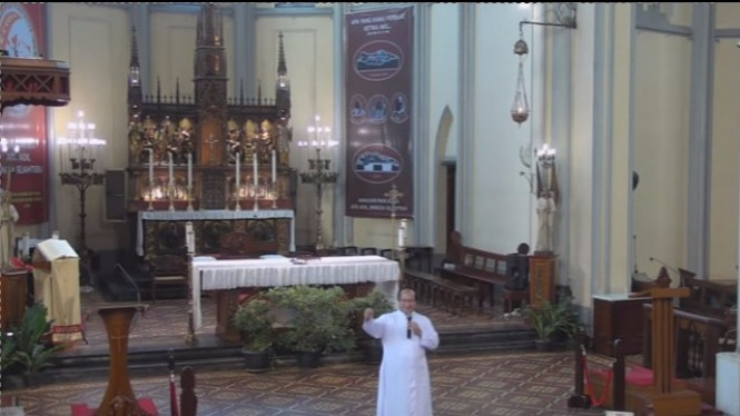 Aktivitas gereja (Foto dari Komsos Katedral)