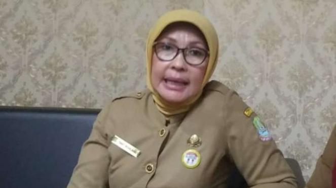 Kadinkes Kota Bekasi Tanti Rohilawati
