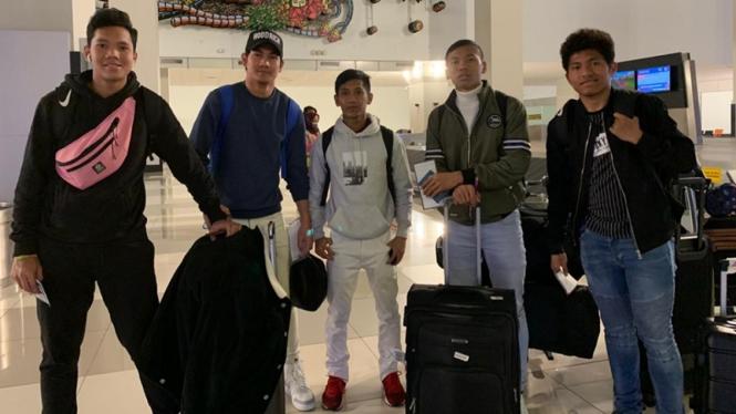 Pemain Garuda Select pulang ke Indonesia