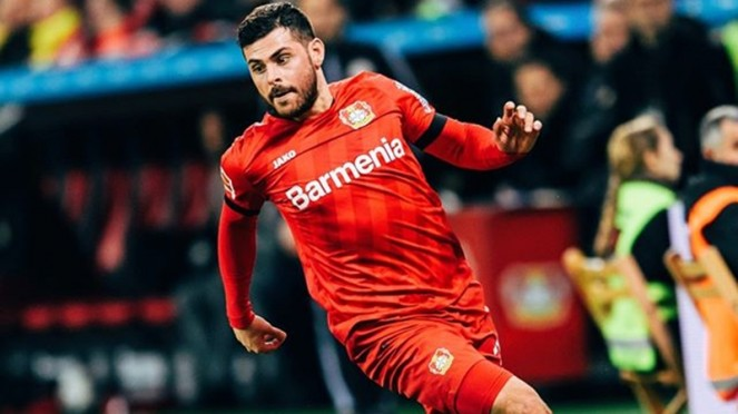 Striker Bayer Leverkusen, Kevin Volland