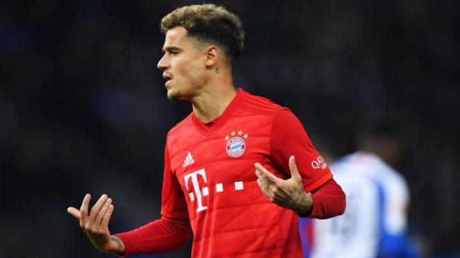 Philippe Coutinho dipinjamkan Barcelona ke Bayern Munich