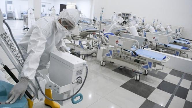 Rumah Sakit Darurat Penanganan Covid-19 Wisma Atlet