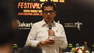 Menteri Pariwisata dan Ekonomi Kreatif Wishnutama