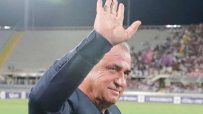 Pelatih Galatasaray, Fatih Terim.