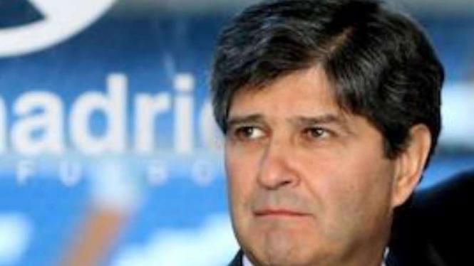 Mantan Presiden Real Madrid, Fernando Martin.