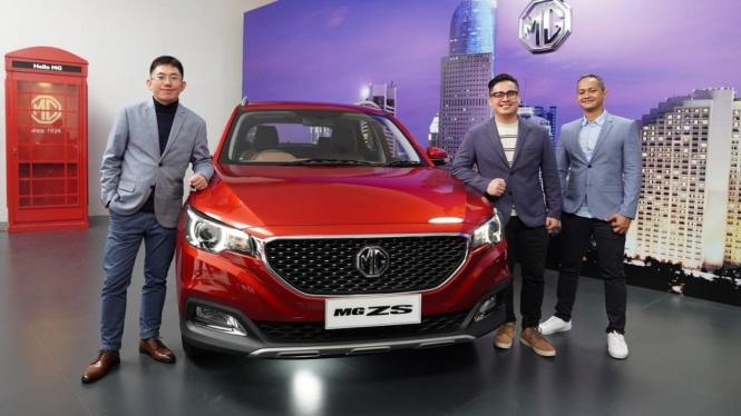 Mobil SUV MG ZS diperkenalkan secara virtual di Indonesia