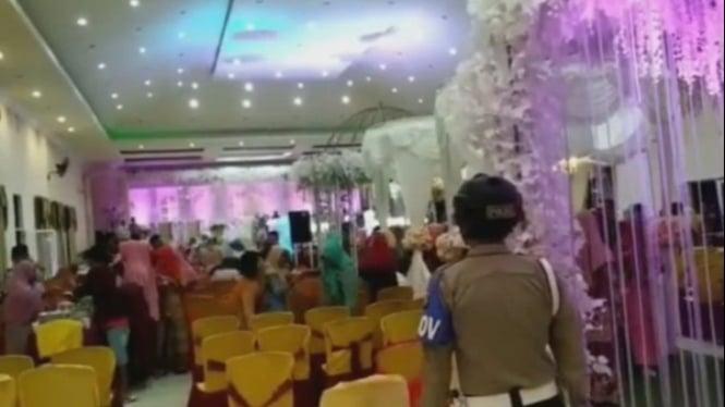 Pernikahan dibubarkan