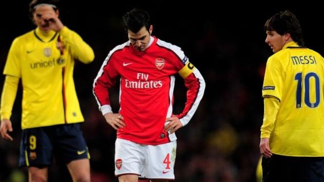 Cesc Fabregas saat masih bermain untuk Arsenal
