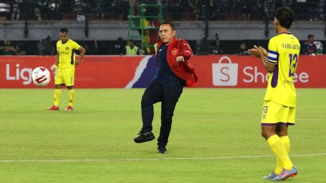 Ketua Umum PSSI, Mochamad Iriawan saat membuka Liga 1 2020