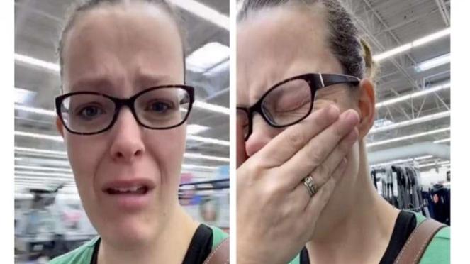 Ibu empat anak yang viral usai kehabisan popok untuk putrinya.