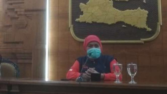 Gubernur Jawa Timur Khofifah Indar Parawansa.