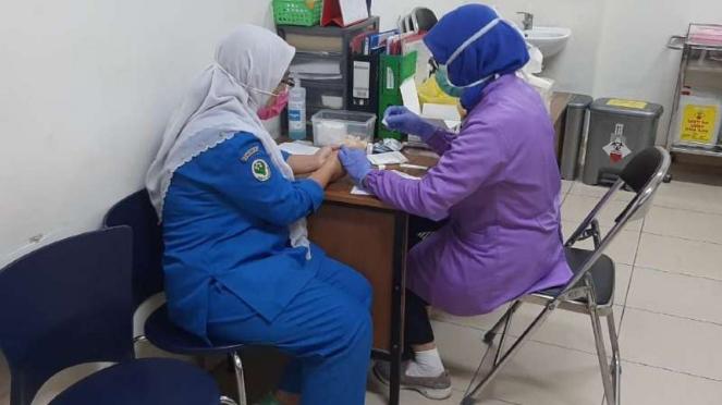 RSHS adakan rapid test corona bagi dokter dan semua pegawai.