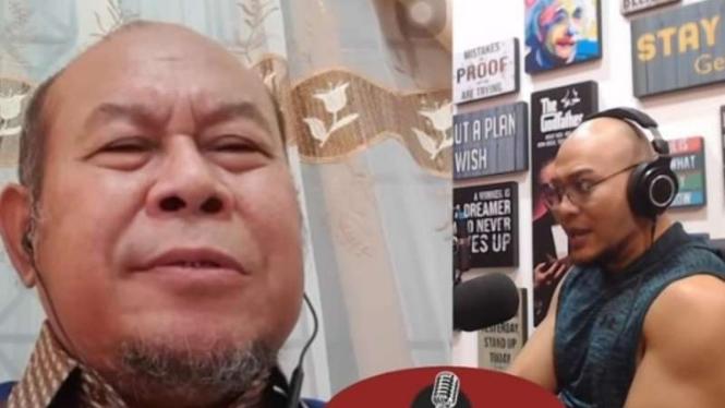 Prof Musri saat diwawancara Deddy Corbuzier