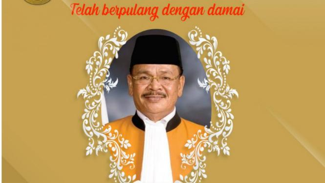 Hakim Agung, Maruap Dohmatiga Pasaribu, meninggal dunia