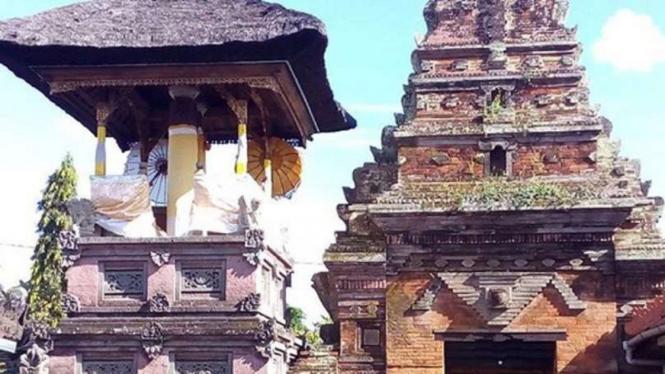 Kulkul Puri Agung Klungkung Bali.