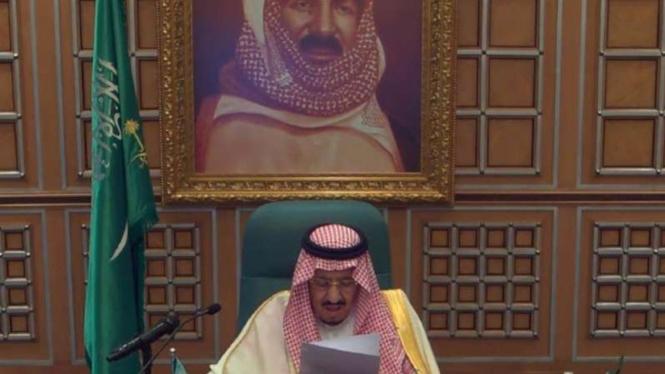Raja Salman bin Abdulaziz.