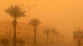 Langit di wilayah Kerajaan Arab Saudi.
