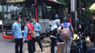 Kondisi Jakarta saat darurat corona.