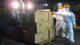 Alat rapid test dan APD bagi tenaga medis sumbangan BNPB untuk Pemda DIY