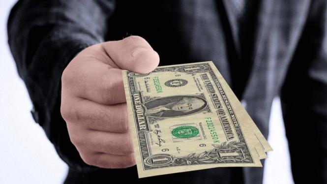 ilustrasi membayar hutang