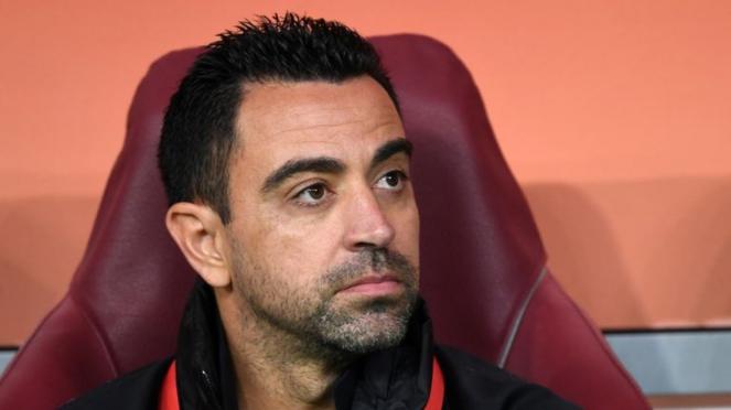 Xavi saat ini melatih klub Qatar, Al Sadd