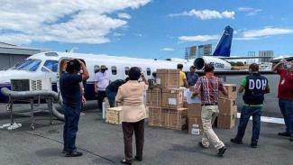 Pesawat Lion Air Inc sebelum jatuh dan meledak.