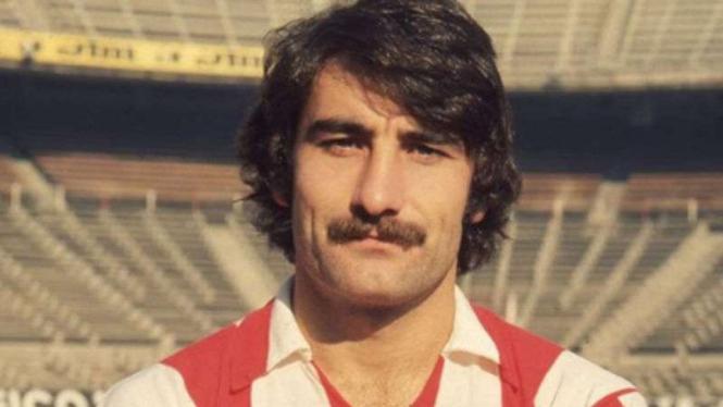 Legenda Atletico Madrid, Jose Luis Capon.