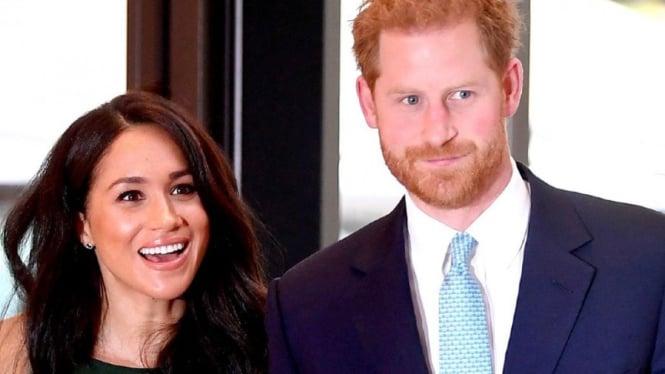 Pangeran Harry dan Meghan Markle.