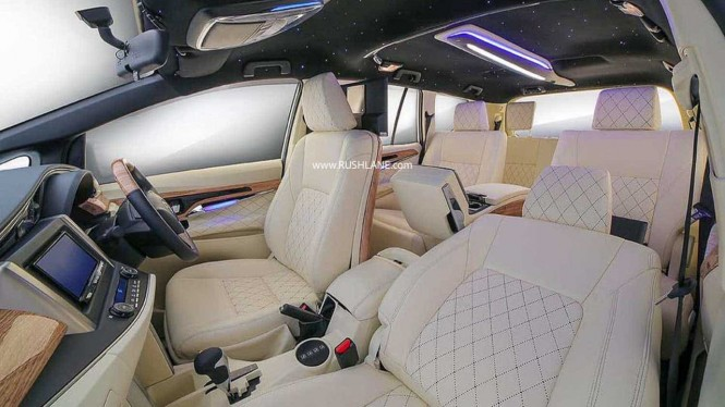 Modifikasi interior Toyota Innova