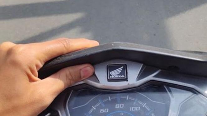 Bodi setang Honda Supra bergetar