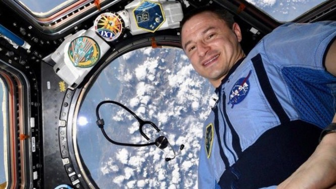 Astronot Drew Morgan.