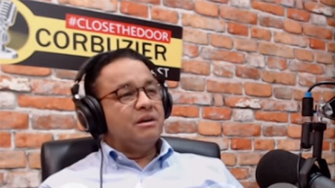 Gubernur Jakarta Anies Baswedan