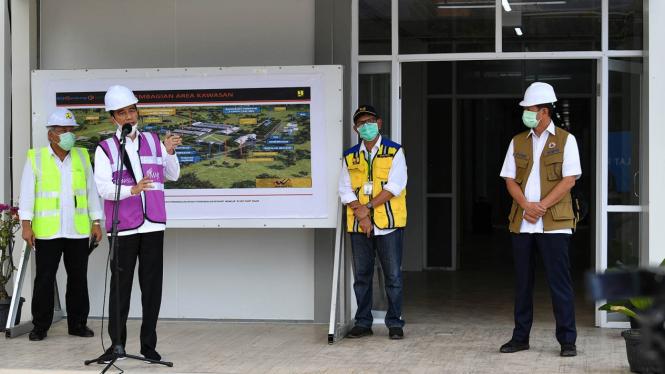 Jokowi Bikin RS Darurat di Batam Dikritik, Pasien Bagaimana ke Sana?