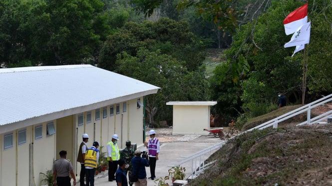 Presiden Joko Widodo Tinjau RS Darurat COVID-19 di Pulau Galang