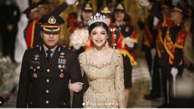 Pernikahan Kapolsek Kembangan Jakarta Barat 22 Maret 2020.