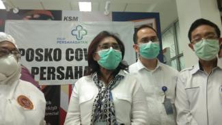 Dirut RSUP Persahabatan dr. Rita Rogayah