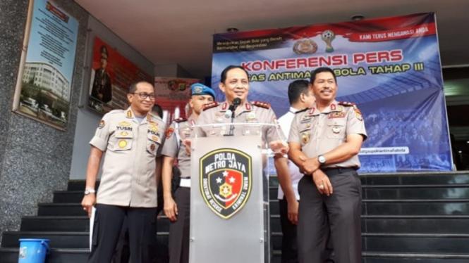 Wakapolri Komisaris Jenderal Polisi Gatot Eddy Pramono