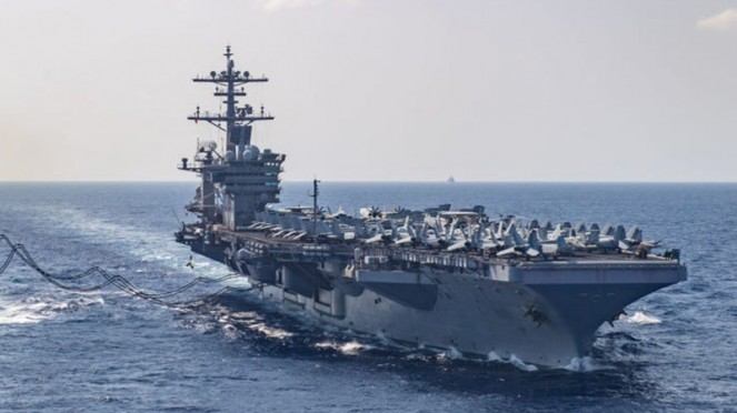 Kapal Induk USS Theodore Roosevelt