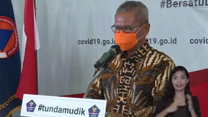 Juru Gugus Tugas Penanganan COVID-19 Achmad Yurianto.
